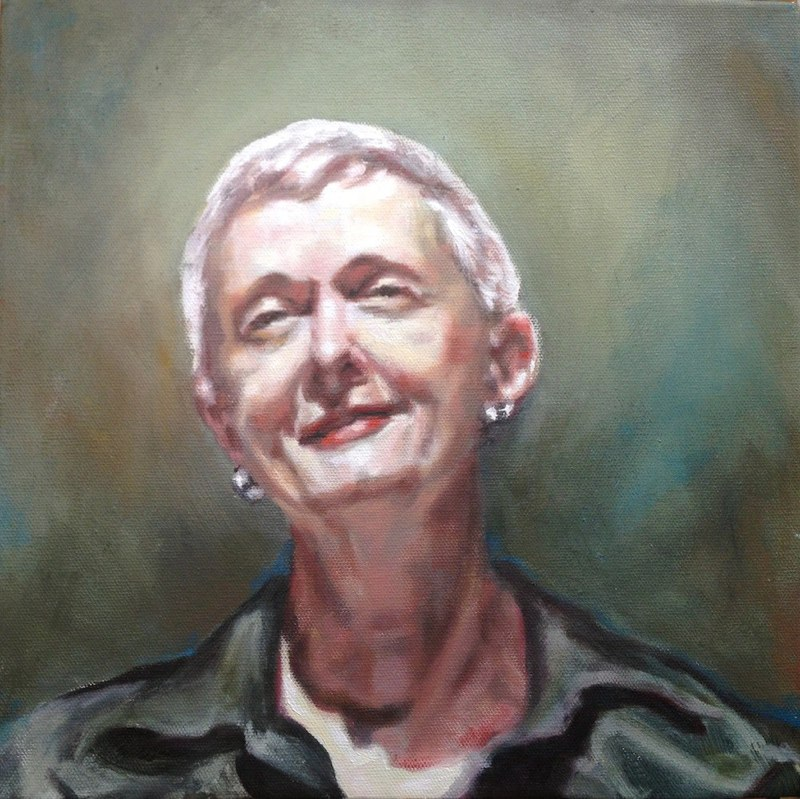 Portraits and Commissions: tribute to a favorite professor
