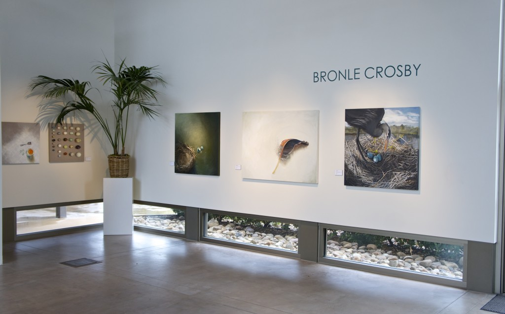 Bronle Crosby solo show Rose Gallery San Diego
