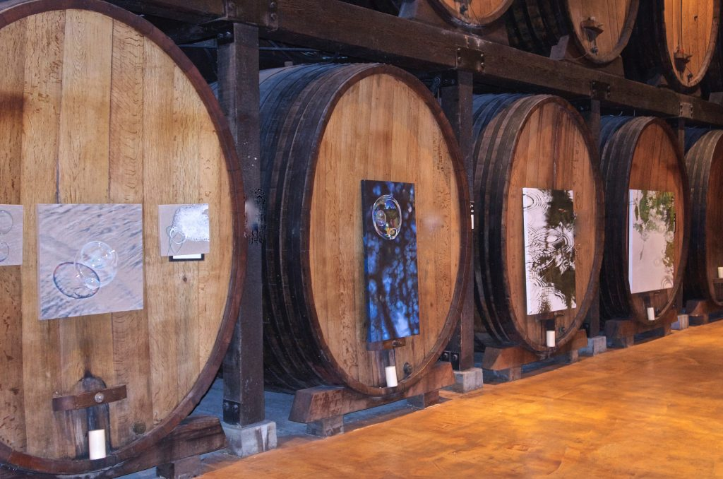 Solo Show Installed at Merryvale Winery Napa Valley